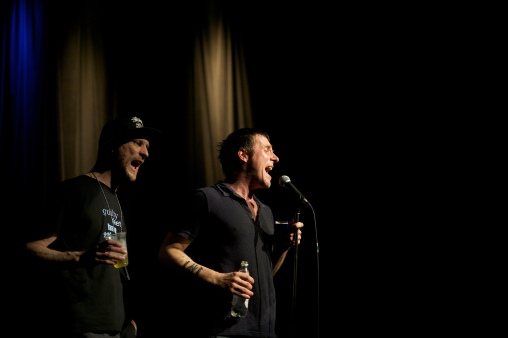 Sleaford Mods am 24.05.2014 im Palace St.Gallen